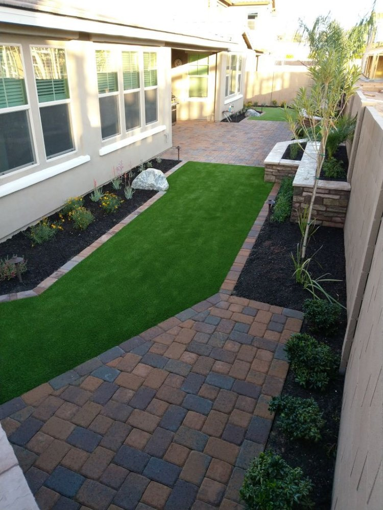 contact professional landscapers in Gilbert, AZ